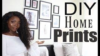 Diy Room Decor Wall Art Frames | Msdebdeb