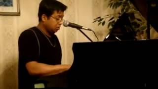 Akash Bhora By Jafar Nazmi (Rabindra Sangeet) Live at home