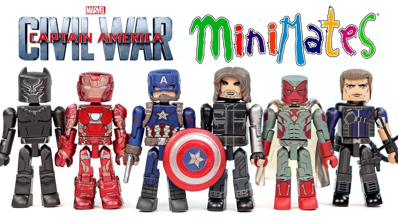 Marvel Minimates Civil War Iron Man