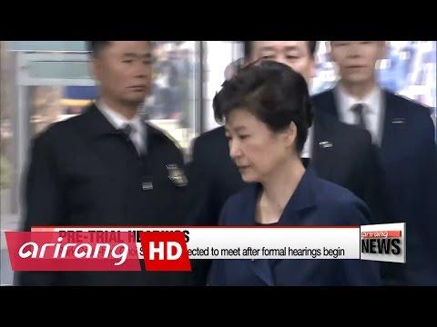 Formal hearings in Park Geun-hye criminal trial to begin May 23