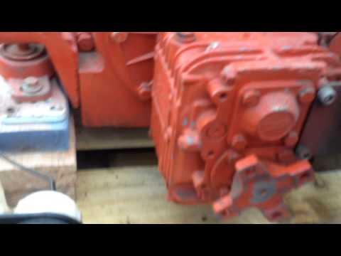 Volkswagen Marine Diesel Running