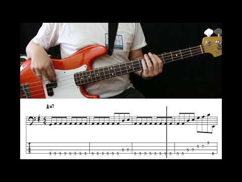 The Style Council - Shout To The Top (Bass Cover With Tabs)