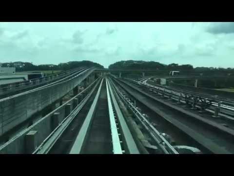 [4K] Punggol LRT West Loop Entire Journey [Front/Cab View] (No Announcements)