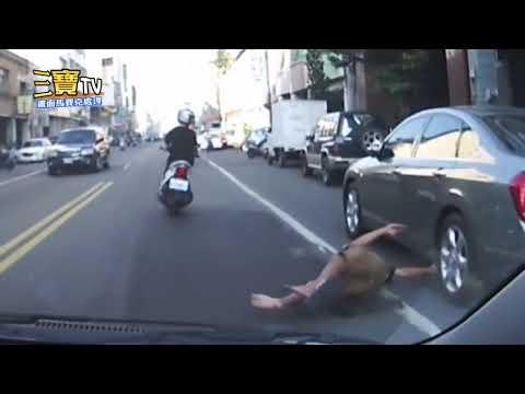 小兄弟,你犧牲自己來懲罰併排停車的行為,讓我肅然起敬