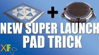How to the Launch Pad + Bouncer Trick in Fortnite