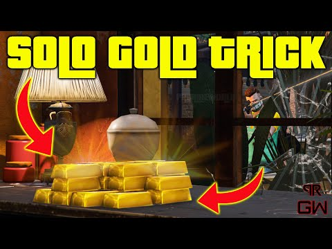 How To Get Gold SOLO Cayo Perico Heist Trick - Secondary Loot - GTA 5 Online 2021
