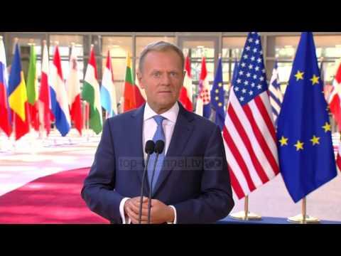 Vizita në NATO, 7 momentet e Trump  - Top Channel Albania - News - Lajme