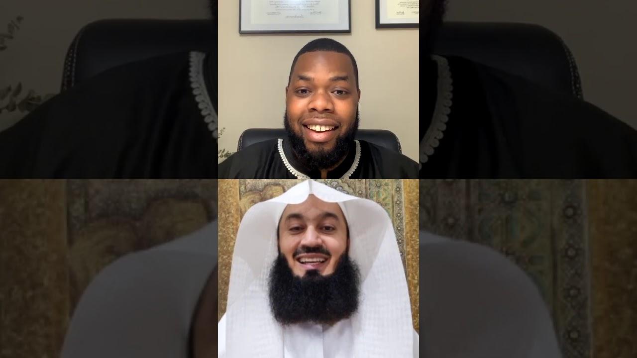Download Tiktoker Dr Faraj Hasan requests Quraan recitation on insta Live with Mufti Menk