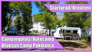 Bluesun Camp Paklenica in Starigrad / Kroatien