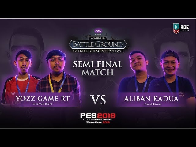 SEMIFINAL 1 : Yozz Game RT vs Aliban Kadua (1st Match)