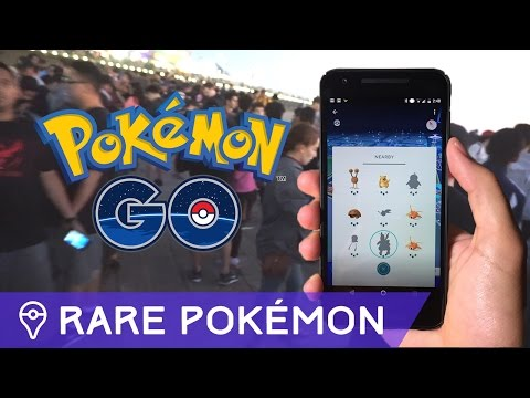 Download Youtube: FINDING RARE POKÉMON IN POKÉMON GO