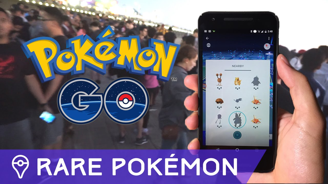 Finding rare pok mon in pok mon go youtube - Pokemon argent pokemon rare ...