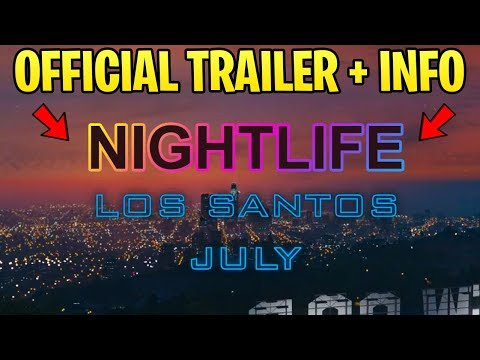 GTA Online OFFICIAL Nightclub DLC Trailer! Rockstar Confirms + Gives More Details!