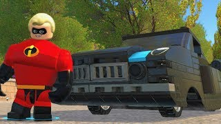 LEGO The Incredibles - The Incredibile - Open World Free Roam Gameplay (PC HD) [1080p60FPS]