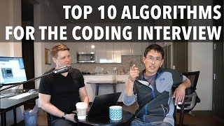 Top 10 Algorithms for the Coding Interview (for software engineers)