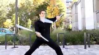 Incredible Nunchaku Skills Performance