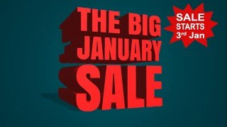 Hetland Garden Centre - The Big January Sale