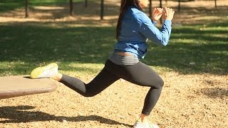 Workouts for Women: Outdoor Full Body Exercises
