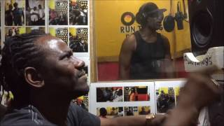 Cutty Ranks  Voicing  Nuh Brave Enough  Medley  dub  for Wayne Lonesome