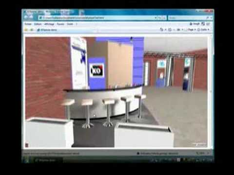 3DXplorer V4 - web3D avatars, multi-user, corporate 3D websites