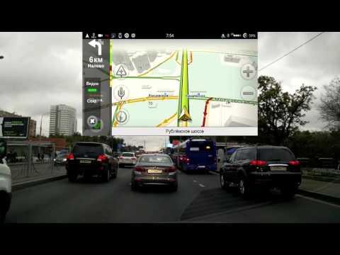 Как показывают пробки в Москве Yandex и Google