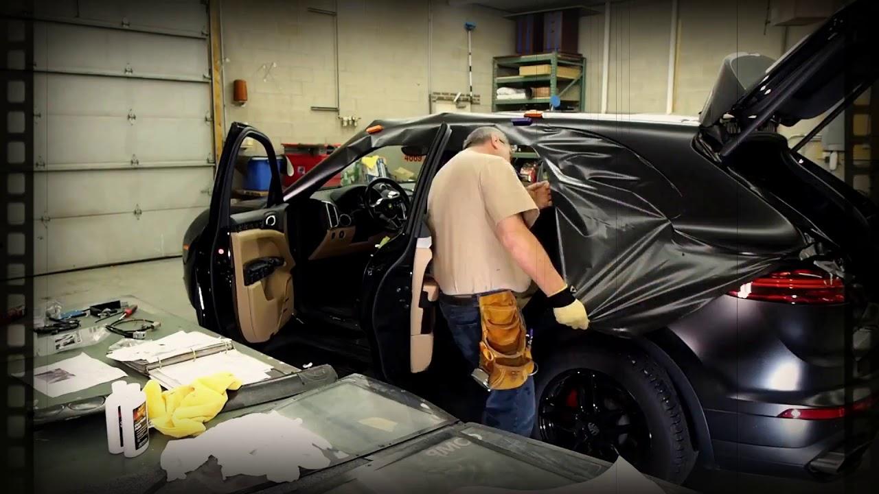 Porsche Cayenne Wrap