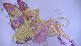 Stella Believix from Winx Club - Drawing Ep49
