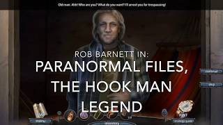 Paranormal Files: The Hook Man's Legend, Collectors edition, Oliver Stone character