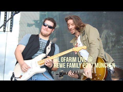 Gil Ofarim & Band live @ REWE Family München 2017 am 01.07.2017 auf der Theresienwiese