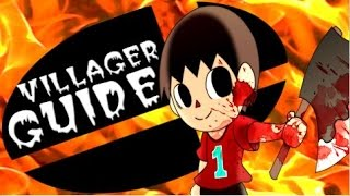 Game | Villager Strategy Guide Super Smash Bros. Wii U 3DS Moveset, Customs, Combos Techniques | Villager Strategy Guide Super Smash Bros. Wii U 3DS Moveset, Customs, Combos Techniques