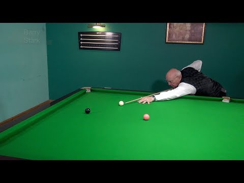 Testing Cue Ball Control - A challenging routine