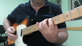 """Guitarra, Aula 74.a - """"Ghostbusters"""", Ray Parker Jr."""