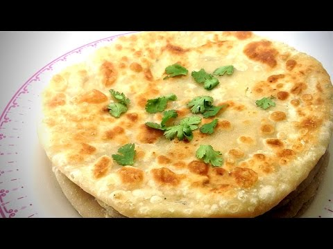 ALOO PARATHA RECIPE-HOW TO MAKE ALOO PARATHA-INDIAN RECIPE-STUFFED POTATO PARATHA