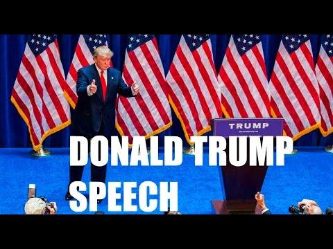Donald Trump's Full Anti Hillary Clinton Speech.