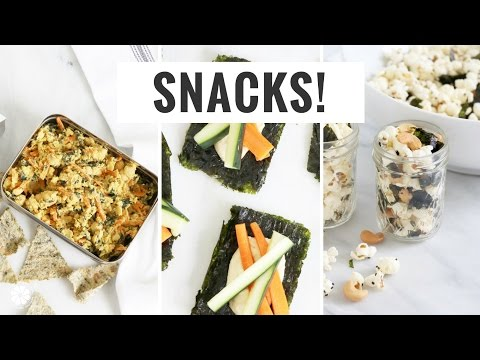 3 Easy + Healthy Snack Ideas For Busy + On The Go! Healthy Grocery Girl