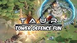 Tower Defence als ein großer Tower ⭐ Let's Play Taur 👑 Angespielt [Deutsch][Gameplay]