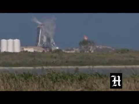 SpaceX Test No. 3 Of Starship Hopper At Boca Chica Beach, Texas