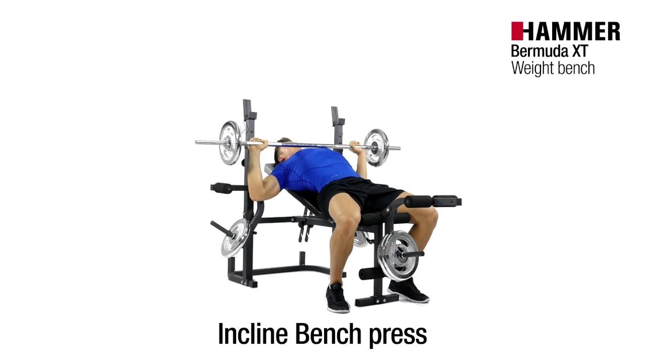 Weight Bench Bermuda Xt Hammer