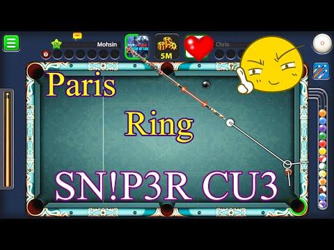 8 Ball Pool - Paris Ring (SNIPER CUE) HD