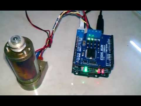 Ckd Project Arduino Dc Servo Controller Youtube