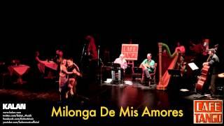 Şirin Pancaroğlu & Bora Uymaz - Milonga De Mis Amores - [ Cafe Tango © 2014 Kalan Müzik ]