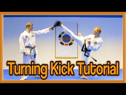 Taekwondo Round Kick/Turning Kick Tutorial | GNT How to