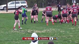 NC State Womans Rugby vs USC