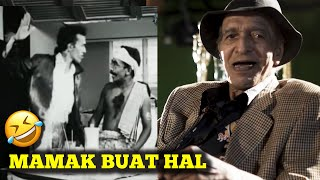 90 y/o actor react to his own film after 70 years - Mat Sentol