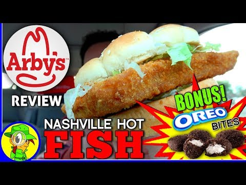 Arby 39 s nashville hot fish oreo bites review for Arby s 2 for 5 fish