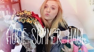HUGE SUMMER HAUL: URBAN OUTFITTERS, BRANDY MELVILLE, F21, PACSUN, & MORE