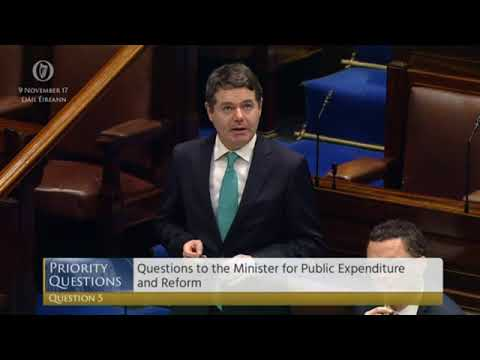 Eamon Ryan question to Paschal Donohoe