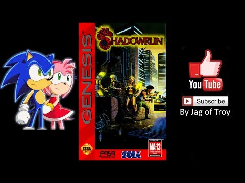 Shadowrun (Sega Genesis) - Longplay