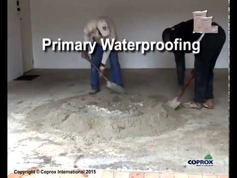 Coprox Waterproof Cement Additive Overview Youtube