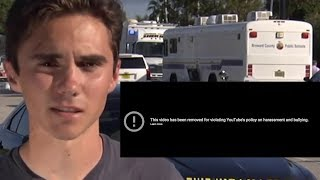 YouTube Removes Video Claiming Shooting Survivor Is CRISIS ACTOR
